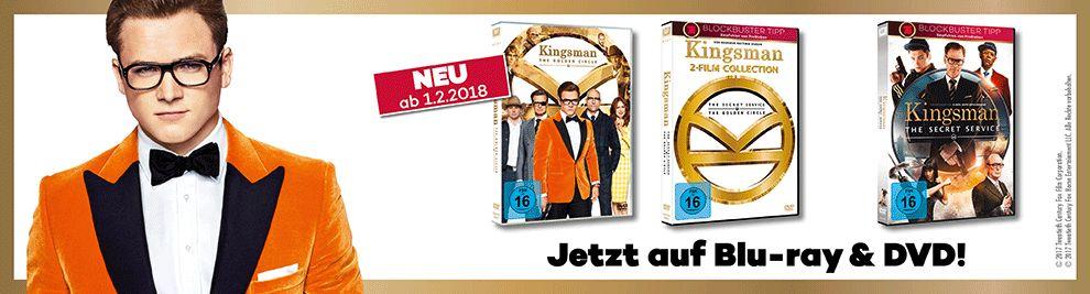 Kingsman auf DVD und Blu-ray